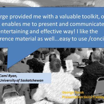 Presentatipon Skills Training Toronto